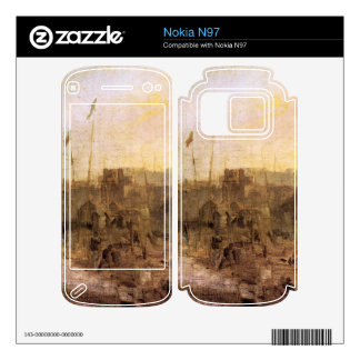 Joseph Mallord Turner - Margate setting sun Decals For The Nokia N97