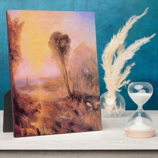 Joseph Mallord Turner - Mercury and Argus Display Plaque