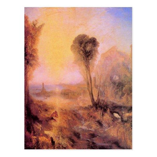 Joseph Mallord Turner - Mercury and Argus Postcard