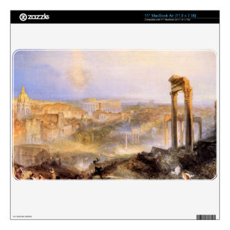 Joseph Mallord Turner - Modern Rome Camp Vaccino Decals For The MacBook