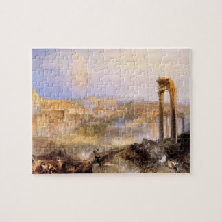 Joseph Mallord Turner - Modern Rome Camp Vaccino Jigsaw Puzzles
