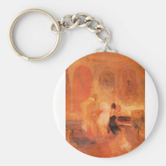 Joseph Mallord Turner - Music at Cowes Castle Keychain