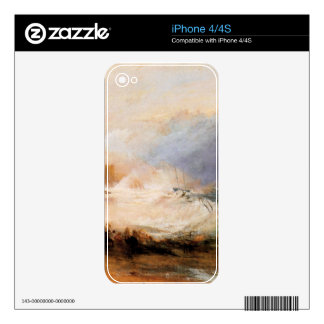 Joseph Mallord Turner - Northumberland shore Decal For The iPhone 4S