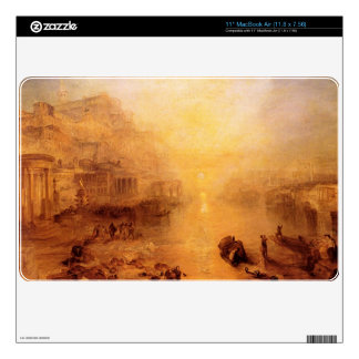 """Joseph Mallord Turner - Old Italy - Ovid banished Skins For 11"""" MacBook Air"""
