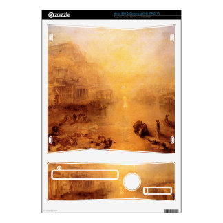Joseph Mallord Turner - Old Italy - Ovid banished Xbox 360 S Console Skins
