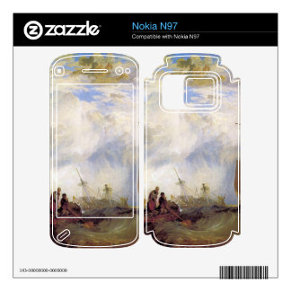 Joseph Mallord Turner - Orange merchant at sea Decals For The Nokia N97
