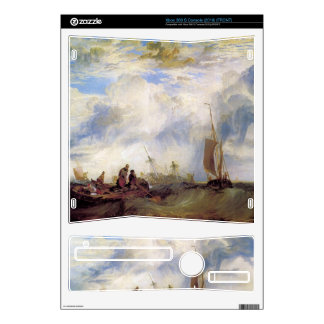 Joseph Mallord Turner - Orange merchant at sea Xbox 360 S Console Skin