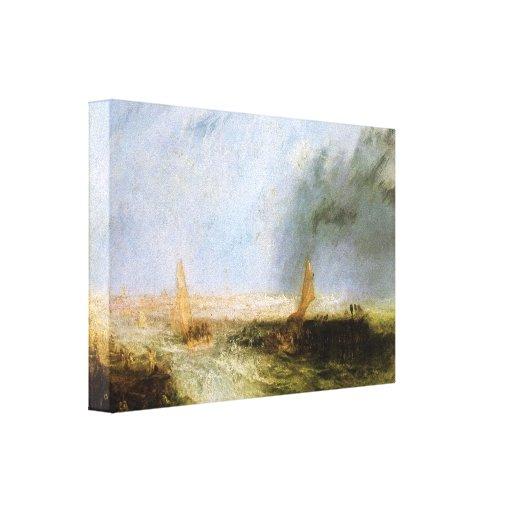 Joseph Mallord Turner - Ostend Canvas Prints