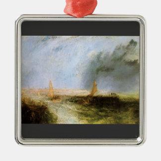 Joseph Mallord Turner - Ostend Christmas Tree Ornament