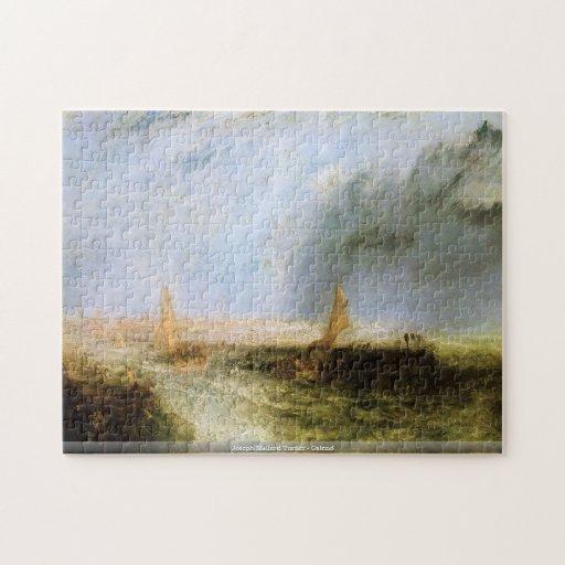 Joseph Mallord Turner - Ostend puzzle