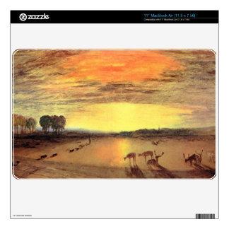 Joseph Mallord Turner - Petworth Park MacBook Skins