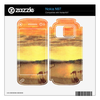 Joseph Mallord Turner - Petworth Park Decal For Nokia N97