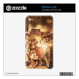 Joseph Mallord Turner - Pilate washing his hands Decals For The iPhone 4