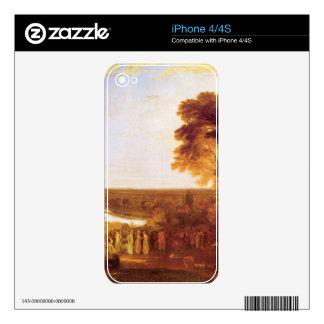 Joseph Mallord Turner - Princes birthday Skin For iPhone 4S
