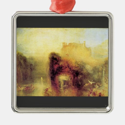 Joseph Mallord Turner - Queen Mabs cave Christmas Ornament
