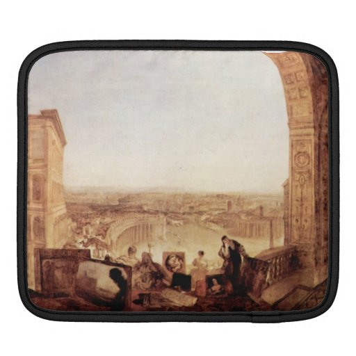 Joseph Mallord Turner - Raffaelli at the Vatican Sleeves For iPads