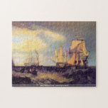 Joseph Mallord Turner -Recovering an anchor puzzle