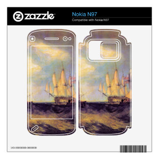 Joseph Mallord Turner - Recovering an anchor Decal For Nokia N97