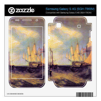 Joseph Mallord Turner - Recovering an anchor Samsung Galaxy S 4G Skins