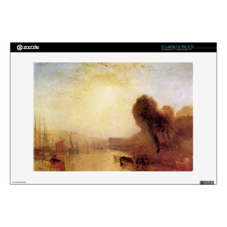 """Joseph Mallord Turner - Regatta at Cowes Castle Decal For 13"""" Laptop"""