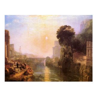 Joseph Mallord Turner - Rise and fall of Carthage Postcard