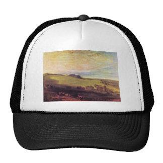 Joseph Mallord Turner - Rosehill park Sussex Trucker Hat