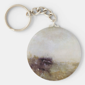 Joseph Mallord Turner - Rough Seas Keychains