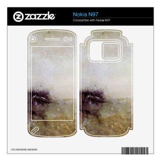 Joseph Mallord Turner - Rough Seas Decal For Nokia N97