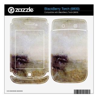 Joseph Mallord Turner - Rough Seas Decals For BlackBerry