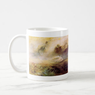 Joseph Mallord Turner - Rough Seas with wreckage Coffee Mug