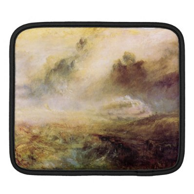 Joseph Mallord Turner - Rough Seas with wreckage iPad Sleeves