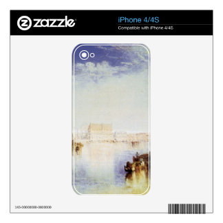 Joseph Mallord Turner - San Giorgio Venice Decals For The iPhone 4S