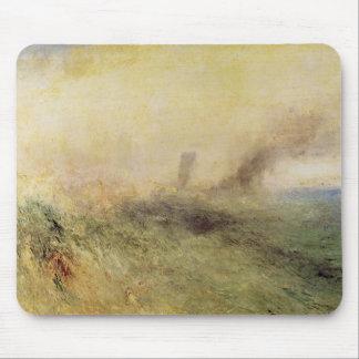 Joseph Mallord Turner - Seascape - Folkestone Mouse Pad