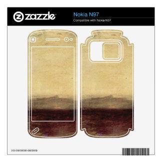 Joseph Mallord Turner - Ship aground Skins For Nokia N97