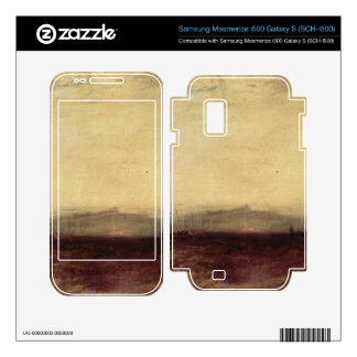 Joseph Mallord Turner - Ship aground Samsung Mesmerize Decal