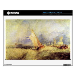 Joseph Mallord Turner - Ships at sea Skins For Medium Netbooks