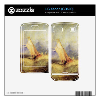 Joseph Mallord Turner - Ships at sea Decals For The LG Xenon