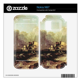 Joseph Mallord Turner - Ships going to anchorage Decals For The Nokia N97