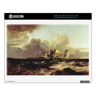 Joseph Mallord Turner - Ships going to anchorage Decals For Netbooks