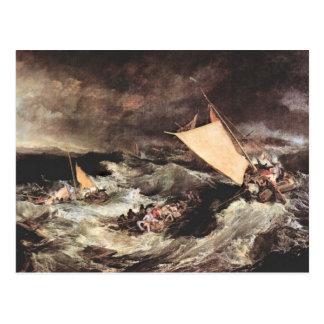 Joseph Mallord Turner - Shipwreck Postcards