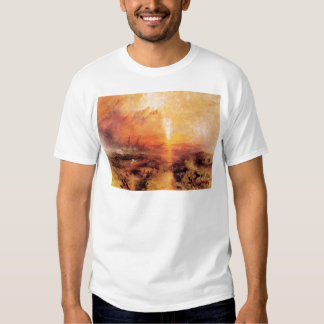 Joseph Mallord Turner - Slaves being thrown overbo Shirt
