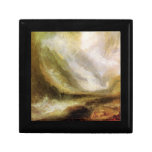 Joseph Mallord Turner - Snowstorm and avalanche Gift Boxes