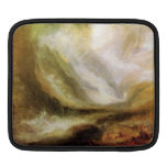 Joseph Mallord Turner - Snowstorm and avalanche iPad Sleeves