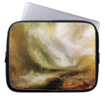 Joseph Mallord Turner - Snowstorm and avalanche Laptop Computer Sleeves
