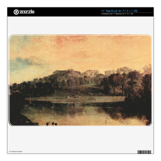"Joseph Mallord Turner - Somer-Hill near Turnbridge 11"" MacBook Air Skins"