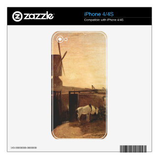 Joseph Mallord Turner - Southall Mill Decal For The iPhone 4S