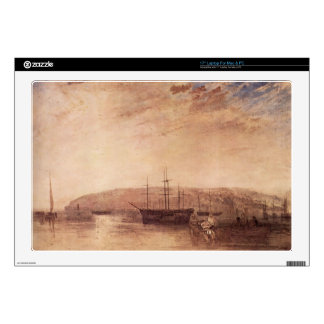Joseph Mallord Turner - Storage of land from East Laptop Skins