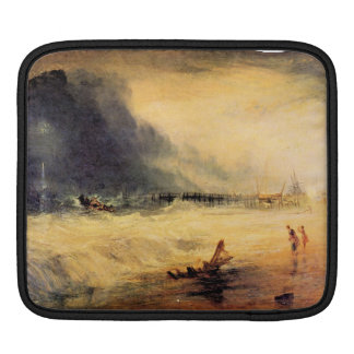 Joseph Mallord Turner - Stranded ship Sleeves For iPads
