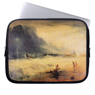 Joseph Mallord Turner - Stranded ship Laptop Sleeves
