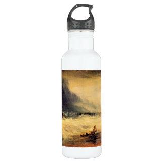 Joseph Mallord Turner - Stranded ship 24oz Water Bottle